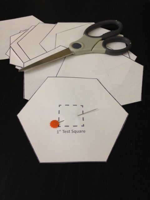"4"" Hexagon Templates"