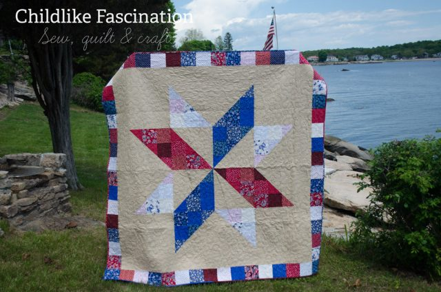 Quilt of Valor on Memorial Day