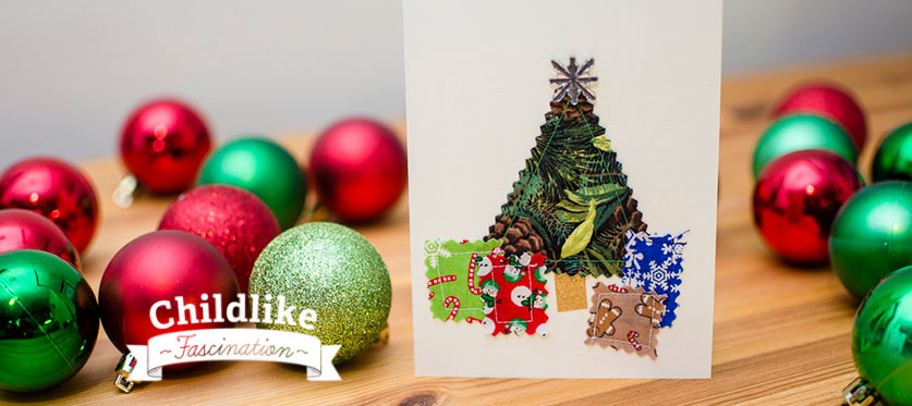 Sewing Christmas Cards Header
