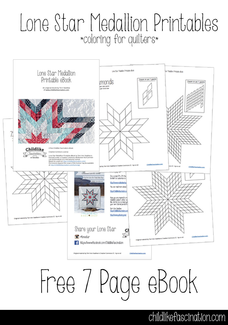 Free lone star quilt coloring pages