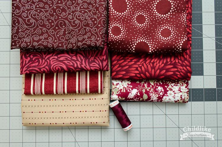 Fabric Pull for Chicken Marsala