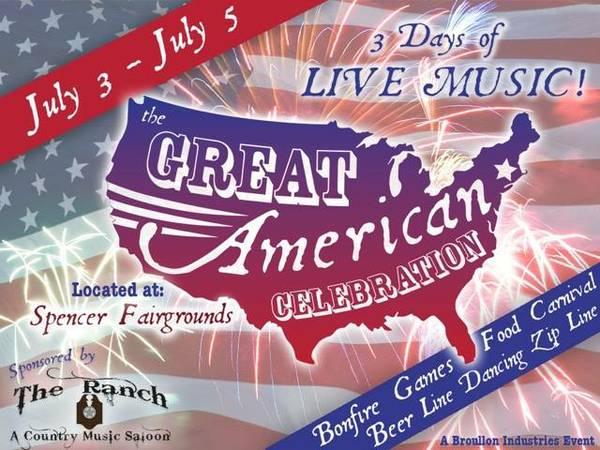 Great American Celebration - Spencer MA 2015