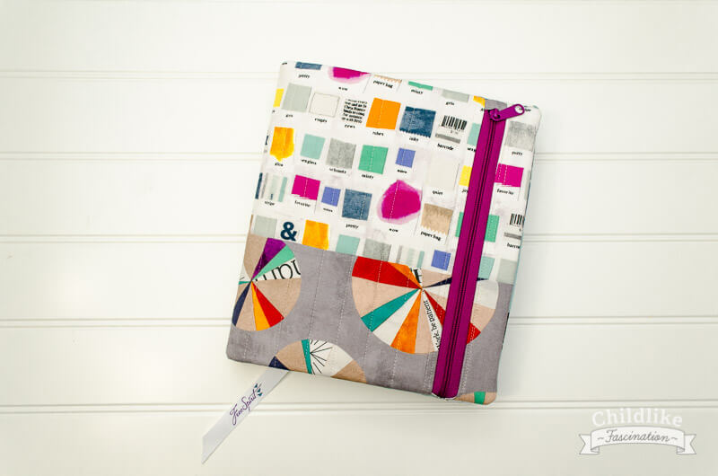 My Finished Quilter's Planner Cover
